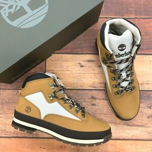 Timberland Men's Euro Hiker Wheat Leather Hiking Boots