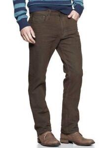 Men/'s Gap 1969 Slim Fit Low Rise Medium Blue Textured Twill Denim Jeans 30 X 30