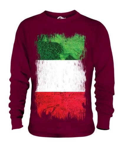 ITALY GRUNGE FLAG UNISEX SWEATER TOP ITALIA FOOTBALL ITALIAN GIFT SHIRT