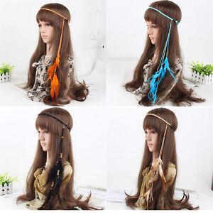 Indian-Gypsy-Feather-Headband-Headdress-Carnival-Fancy-Dress-Headpieces-Hippie