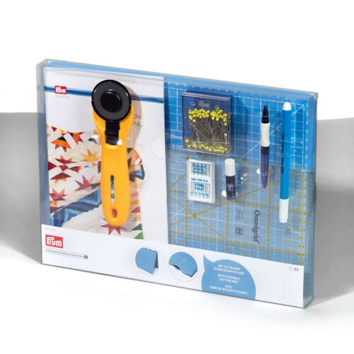 Prym Patchwork & Quilting Starter-set, avec Pliable De Coupe Tapis, Art. 651490