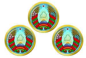 Bielorussie-Marqueurs-de-Balles-de-Golf