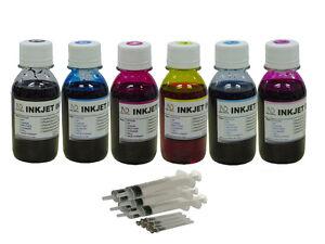 6x100ml-refill-ink-for-HP02-Photosmart-C5140-C5150-C5180-C5185-C5185-C6180-C6185