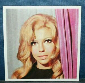 NANCY SINATRA   Original 1969 Colour Photo Card