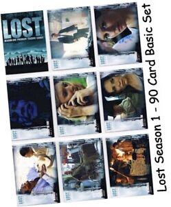 Inkworks Lost Season 1 Complete 90 Card Base Set