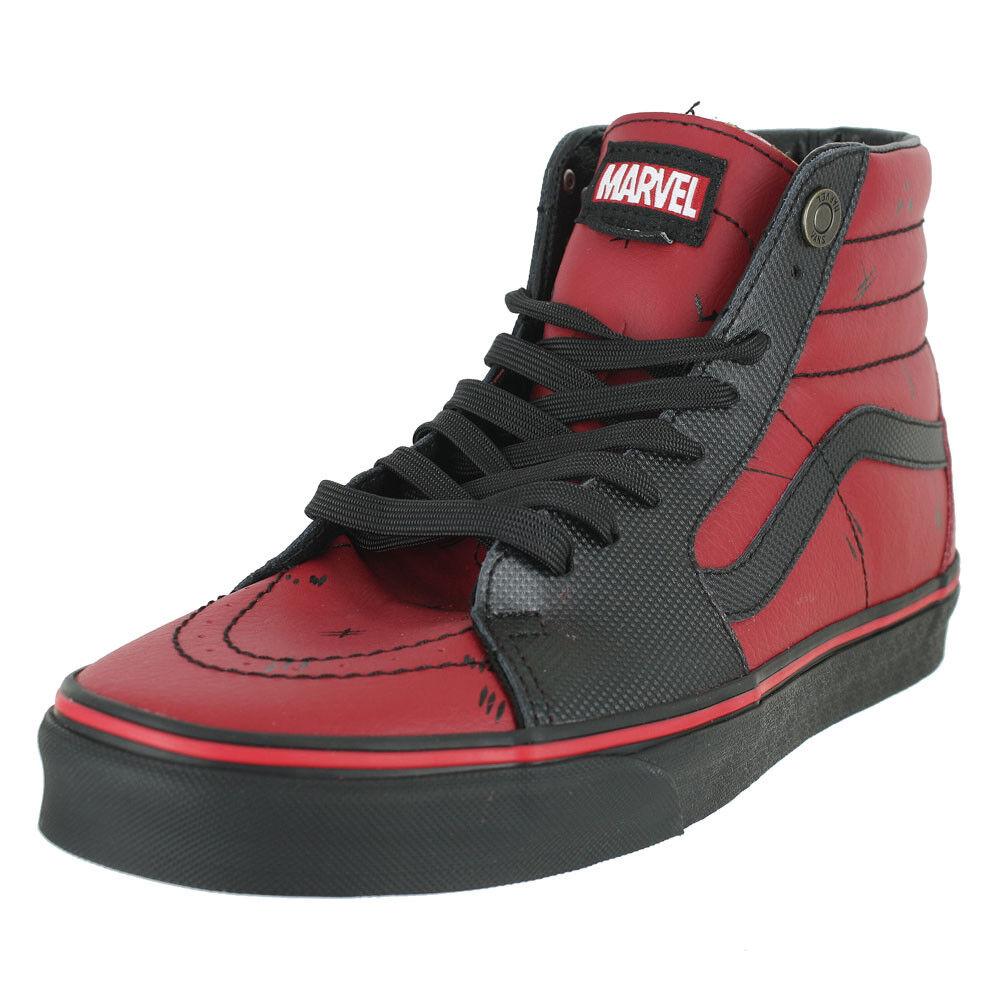 Vans U SK8 HI Marvel Deadpool LIMITED EDITION homme US Tailles
