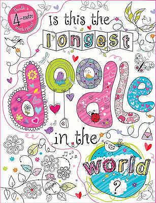 """AS NEW"" Make Believe Ideas, Is This the Longest Doodle in the World?, Book"