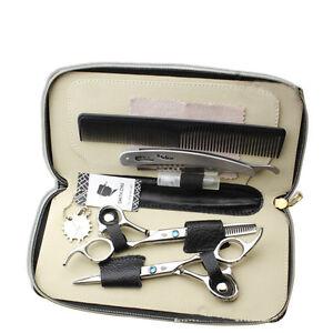 6 pezzi Professionale Set forbici taglio capelli Forbici barbiere Salone Forbici