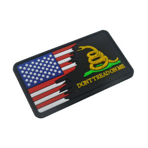3D-PVC-DON-039-T-TREAD-ON-ME-United-States-Flag-Patch-Tactical-Hook-Badge