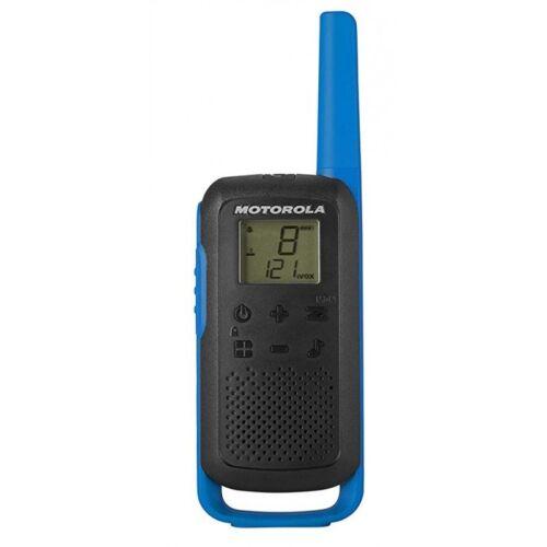 Motorola T62 TALKABOUT Blau-Schwarz PMR Funkgeräte Reichweite: 8km