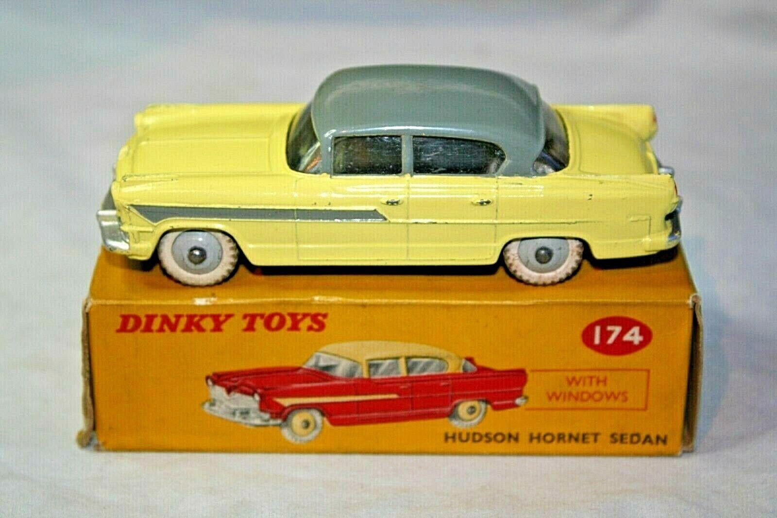 Dinky 174 Hudson Hornet, superbe état en bonne boîte d'origine