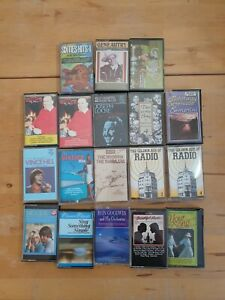 audio music cassette tapes bundle joblot x 18 as pictured mct36