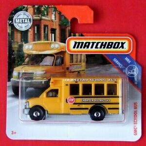 MATCHBOX-2019-GMC-SCHOOL-BUS-97-100-NEU-amp-OVP
