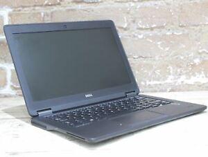 """Dell Latitude E7250 12.0"""" Laptop i5 5th Gen 128 GB 4 GB Win 10 Grade C 431428"""