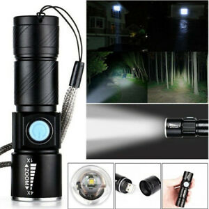 SMALL TORCHMini Handheld Powerful LED Tactical Pocket Flashlight Rechargeable