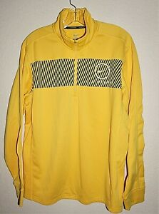 Nike-Livestrong-Mens-L-Large-Sweatshirt-1-4-Zip-Mock-Pullover-Lance-Armstrong