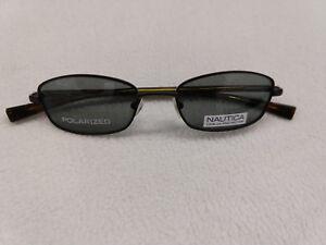 c763a3ff874 Image is loading Nautica-Unisex-Anchor-010-Polarized-Sunglasses-Satin-Black