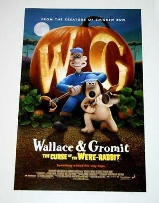 Wallace Gromit The Curse Of The Were Rabbit 11x17 Original Promo Movie Poster Ebay