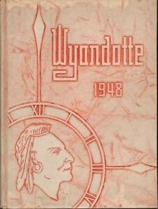1948-SYLVANIA-HIGH-SCHOOL-YEARBOOK-ANNUAL-OHIO-VERY-GOOD-CONDITION