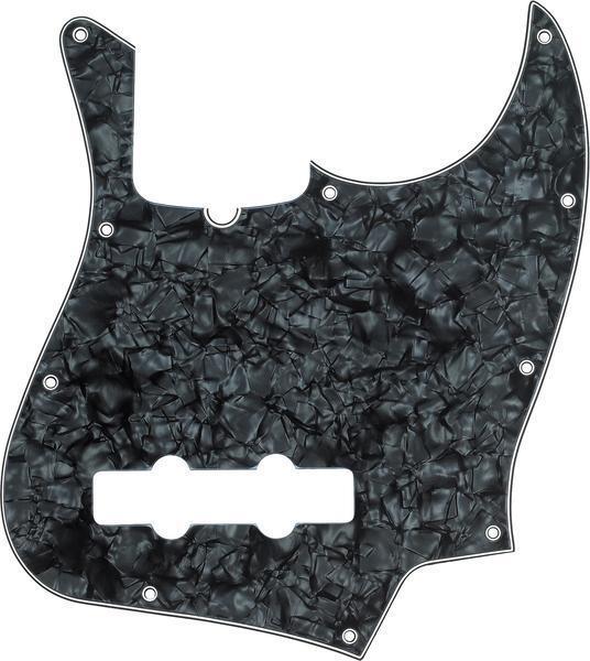 Genuine Fender Negro Perlados Estándar Jazz Bajo J J J Pickguard 099-2171-000  suministro directo de los fabricantes