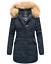 Marikoo-Karmaa-Damen-WinterJacke-Steppjacke-winter-Parka-Mantel-warm-gefuttert miniatuur 28