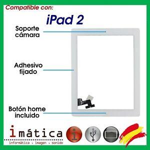 PANTALLA-TACTIL-IPAD-2-ADHESIVOS-SOPORTE-CAMARA-BOTON-HOME-BLANCO-BLANCA