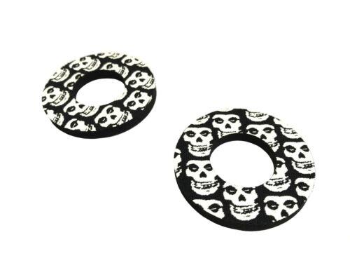 Black Skull Donuts Thumb Blister Protection Fits X-Sport Pit Bikes