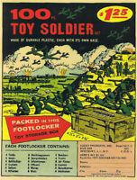 Marx 100 Toy Soldiers Battleground Ad