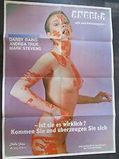 ANGELA - WILD UND HEMMUNGSLOS - Filmplakat A1 - SEX EROTIK _ Darby Rains