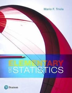 Elementary statistics by mario f triola 2017 hardcover ebay stock photo elementary statistics by mario f triola 2017 hardcover fandeluxe Gallery