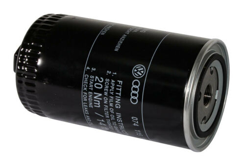 2.4D 074115561G T4 Oil Filter 2.5 TDI T4 90-03 Genuine VW 2.5 Petrol