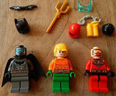 Lego Marvel Super Heroes Aqua Suit Batman Minifigure Set 76027