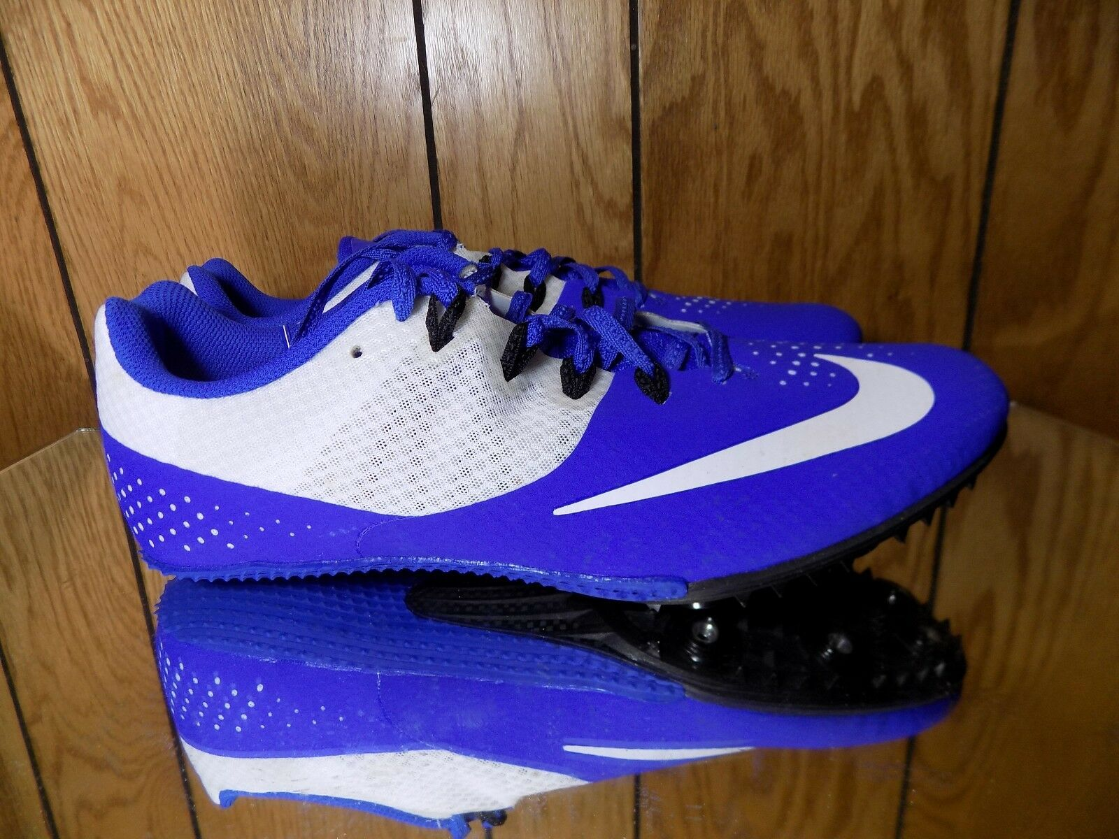 Nike Zoom Rival S 8 Sprint Run Track Cleats 806554-400 Sz 10.5