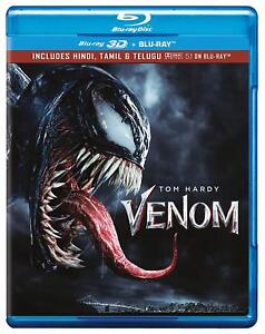 Venom-2018-Blu-ray-3D-Blu-ray-Region-Free-Three-Disc-NEW
