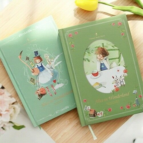 [2019 Classic Hardcover Diary Undated-alice] 13 Month Un-dated Note+tracking No To Have A Long Historical Standing