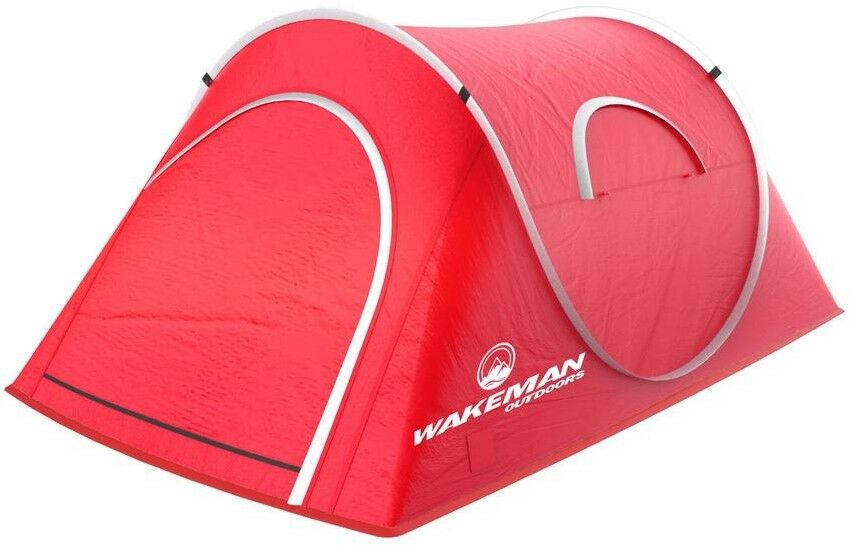 Sunchaser Tent 2Person PopUp Water Resistant in in in rosso with Portable Storage Bag 6eb962