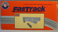 Lionel Fastrack 048 Command Control Rh Switch O Gauge Train Turnout 6-16831