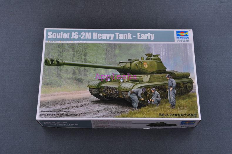 Trumpeter 05589 1 35 Russian JS-2M Heavy Tank Early Version