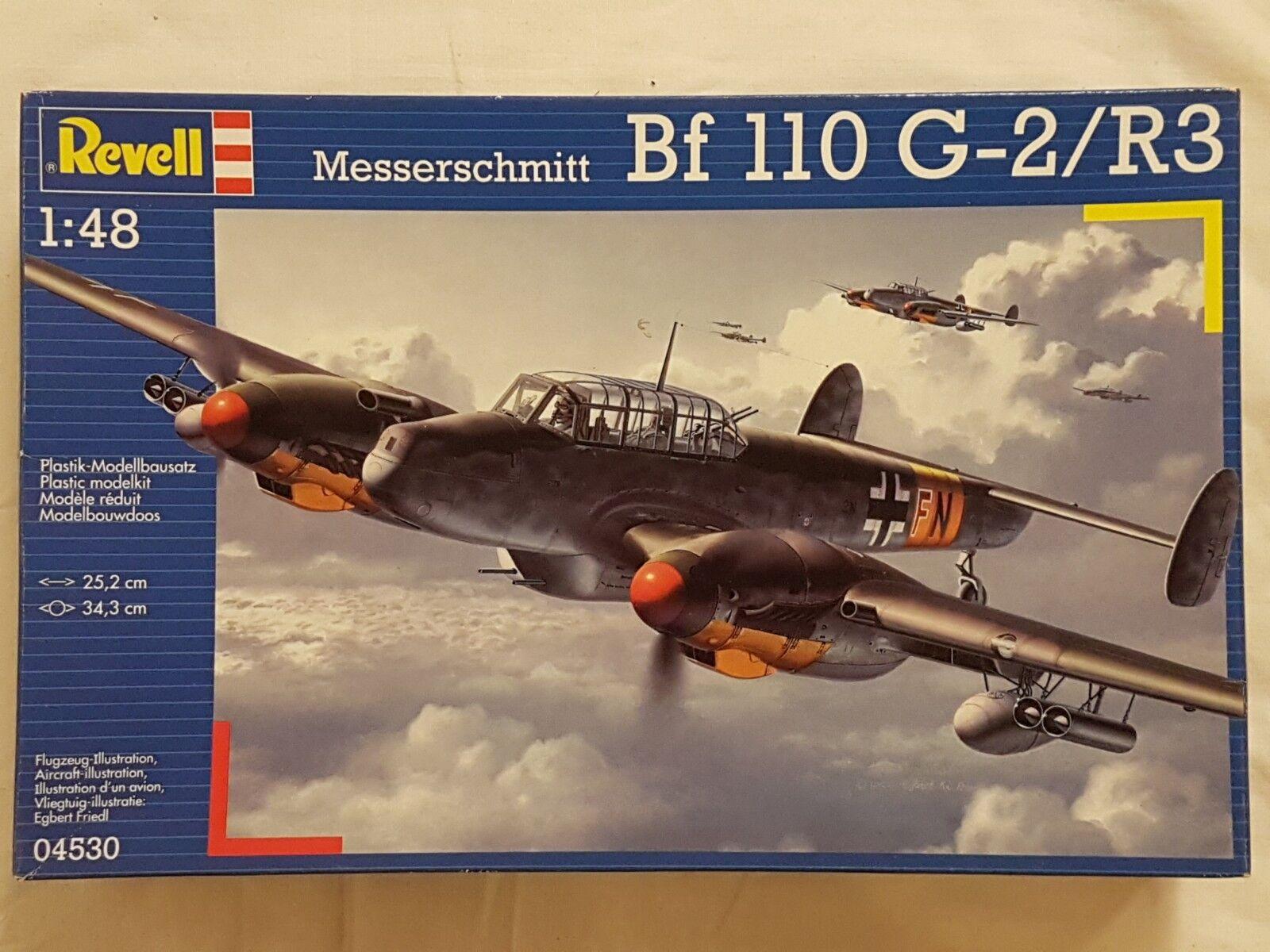 Revell 04530 Messerschmitt Bf 110 G-2 R3 1 48 Neu und versiegelt    Verschiedene Waren