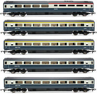 HORNBY OO BR INTERCITY BLUE/GREY MK3 PASSENGER COACHES (5 VARIATIONS) *NEW*