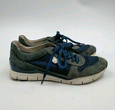 GEOX Respira Woman Italian Patent Shoes Sneakers Bronw Leather Sz US 6 Eur 37 | eBay