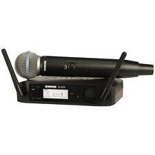 Shure GLXD24/BETA58A Handheld Wireless System