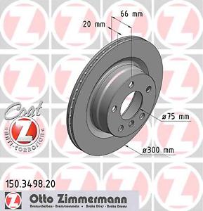 Disque de frein COAT Z-Charpentier 150.3498.20 2 Pièce