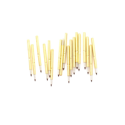 100pcs P75-B1 Dia 1.0mm Cusp Spear Spring Loaded Test Probes Pogo Pins to.wy