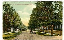 Livingston Manor NY - VIEW DOWN DUBOIS STREET - Postcard