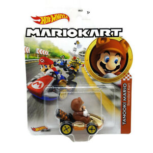 TOY NEW Die-cast Tanooki Mario Standard Mario Kart UK IMPORT Toys-Hot Wheels