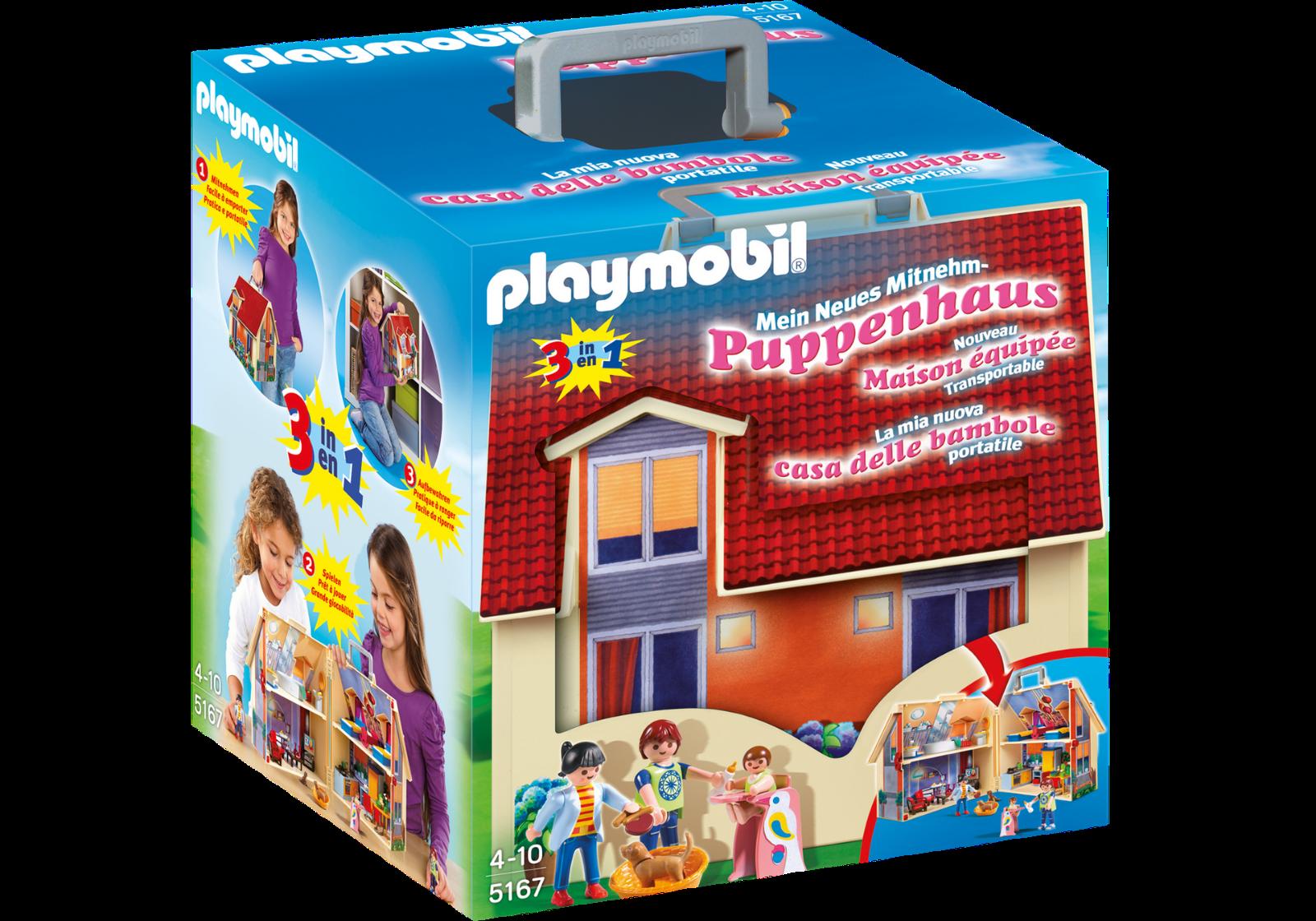 Playmobil  5167 CASA DE MUÑECAS MALETIN    Nuevo