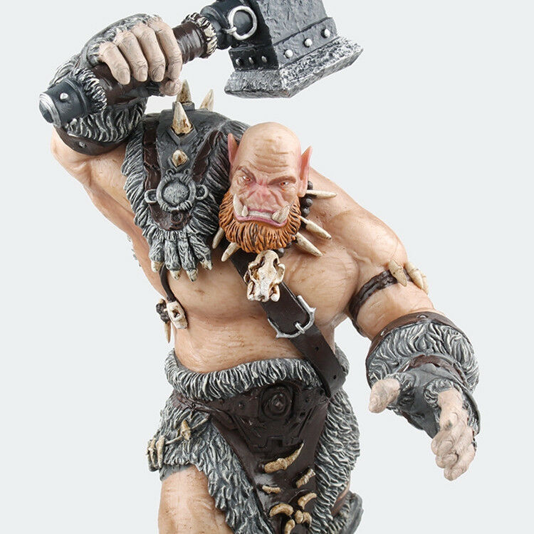 WOW World of Warcraft - Orgrim Doomhammer PVC Decor Collection Action Figure Toy