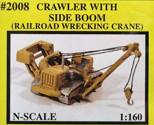N Scale Railway Express Miniatures /'Crawler With Side Boom/' KIT #2008