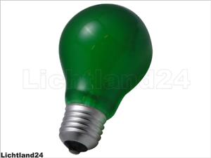E27-10 x farbige Kerzen 25 Watt ORANGE bunte Illu Lichterkette Glühlampe 25W